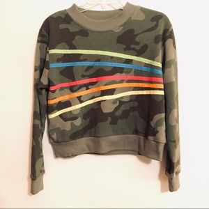 Green Camo Sweatshirt